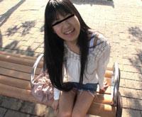【無修正】木綿のパンツにスポーツブラの女の子が「私、もう子供っぽい下着は卒業したいんです!」と思い切ってAVに応募したきた件 栗田岬