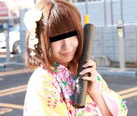 【無修正】天然むすめ 卒業記念!袴でAV出演