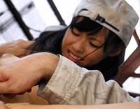 町工場で働く女の子 野原あおい