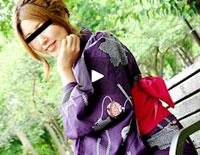 【無修正】天然むすめ 観られるのが大好きな娘と浴衣で野外露出 阿久津紗里菜 22歳