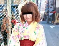 【無修正】天然むすめ 卒業記念!袴でAV出演 立花果音23歳