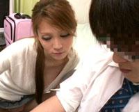 【エロ動画】一ノ瀬アメリが…家庭教師に成り済まして受験生の部屋に潜入!童貞男子○校生を下品に誘惑!喰いまくり!