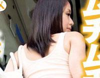 【エロ動画】ムチムチホットパンツバス ハミ尻を強調するのは性交OKの象徴!? 人目を気にせず挑発してくるショートパンツ娘