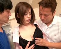 【エロ動画】巨乳(B101)過ぎてクビになった歯科衛生士のわたし 大島あいる(21歳) 爆乳&中出し5連発!!!