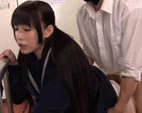 【エロ動画】セックスが溶け込んでいる日常 学園生活で「常に性交」女子校生