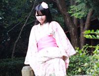 【モロ動画】完全素人AV DEBUT 3nd ~浴衣の似合うロリ美少女にベランダで中出し~ ユリ