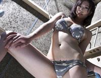 【無修正】180cm以上の長身ミリドルの絶叫アクメ! 青山沙希