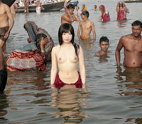 【中出し無料エロ動画】裸の大陸 特別編 インドで出会った愉快な路上生活者と中出しセックス 中野ありさ