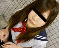 【無修正】天然むすめ 制服時代 ~はじめてのJK露出×痴漢ごっこ~ 浜田のぞみ