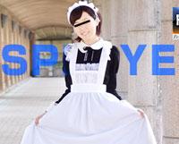 【無修正】純コス☆ メイドのバイトの制服でエッチ サキ