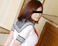天然むすめ 制服時代 ~爆乳は制服時代からなの~ 桜井杏奈 21歳
