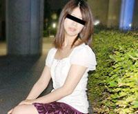 天然むすめ 素人ガチナンパ ~バス待ちしてる娘にエッチなバイトのすすめ 椎名沙希 23歳