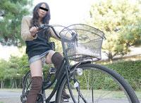 ちゃりん娘 ~見てください!こんなマンコで自転車乗ってます~ 有馬美帆