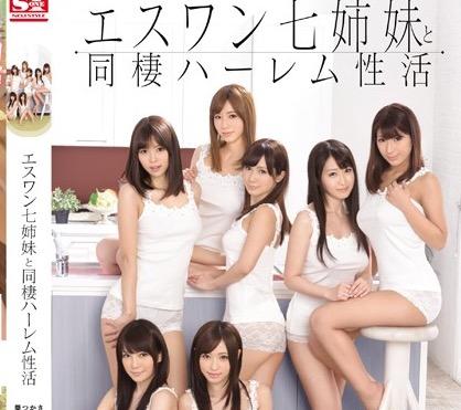 【葵つかさ 小島みなみ 動画】S-1のS級美女たちとハーレムセックスの主観エロ動画!