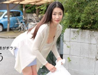 【人妻 中出し 無修正】美巨乳人妻の江波りゅうがノーブラタンクトップで誘惑して男を連れ込む!
