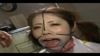 調教SMプレイで強制鼻フックにザーメン流し込みで肉便器M女が爆誕!