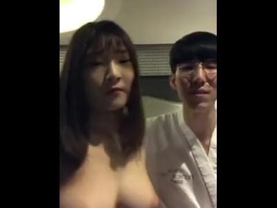韓国人カップルの個人ハメ撮りが日本で流出炎上w海外リベンジポルノか?