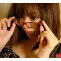 【無修正】巨乳メガネっ子のナマ授業! 浅田ひなた