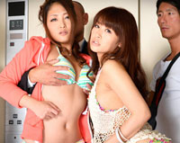 【無修正】緊急停止!密室エレベーター輪姦 Maika 宮間葵