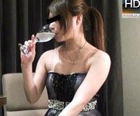 【無修正】キャバ嬢とラブホで乾杯♪まさかそのまま帰れるとでも思っていたのか!! 児島咲