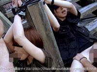 【無修正】性なる闘争!!本能むき出しサバイバル姦 DANGER.3 2人とも縛りつけて輪姦 石田美和&坂井菫