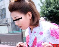 【和服エロ動画無修正】天然むすめ 卒業式の気分で袴エッチ! 七瀬えみ 22歳