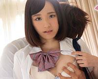 【無修正】無垢な純粋制服娘を思いのままに  前田さおり
