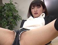 【エロ動画】美人秘書 お前の足で抜かれたい。 百合川さら