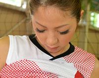 【エロ動画】身長178cm 国体出場現役女子大生バレーボール選手 AVデビュー 希望れいな