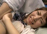 【エロ動画】貧乳・女子校生中出し オヤジの前で復讐レイプ 山下優衣