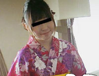 モデル撮影とだまし浴衣娘を強襲 島崎友紀子